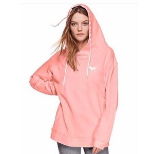 VS Pink Crossover Soft Hoodie Tunic